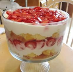 DIABETIC DESSERTS RECIPES IMAGES | Recipe Strawberry Angel Food Dessert by Easy Desserts For All
