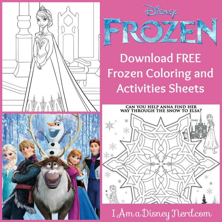 Coloring Book Frozen Download : 95 best frozen party images on pinterest