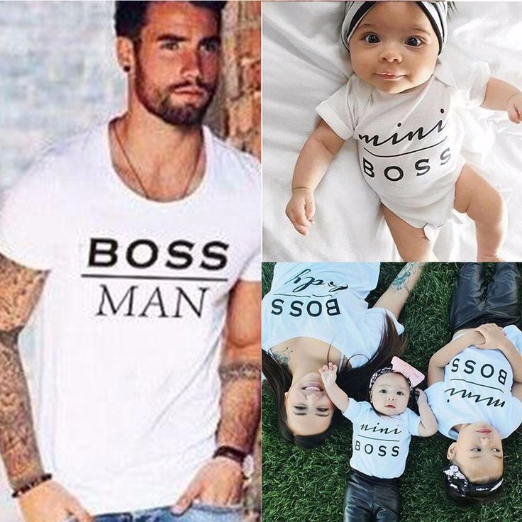 Boss Print T Shirts | Price: $7.87 | #babies #pregnancy #kids #mommy #child #love #momlife #babygirl #babyboy #babycute #pregnant #motherhood #photography #photoshoot