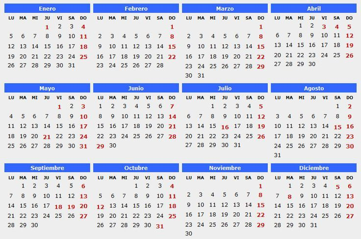 calendario 2016 chile - Buscar con Google