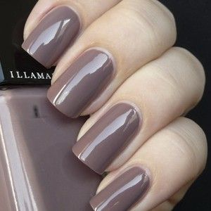 NAIL VARNISH  in Color: Stagnate -GREY MAUVE