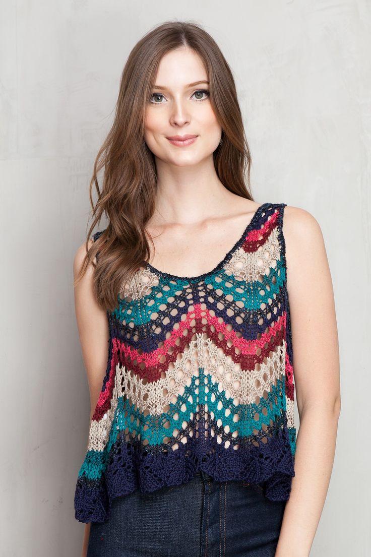 cropped rendada mix tapeçaria | Dress to