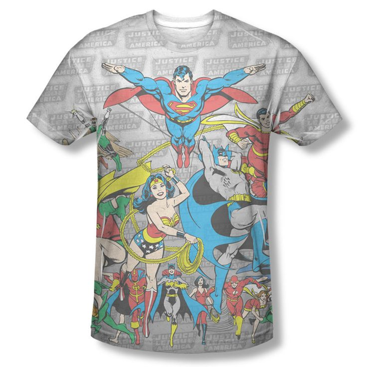 DC Original Justice League JLA Members  Sublimation ALL OVER Vintage T-shirt top Official DC Comics Licensed Sublimation Front Print Justice League T-shirt #DCComics #DCOriginals #PencilSketch #VintageFade #OriginalDCUniverse #Batman #ComicCover #ComicStrips #Superman #TheFlash #RedTornado #GreenLantern #VintageComics #JusticeLeague #Shazam #WonderWoman #Batgirl #CaptainMarvel