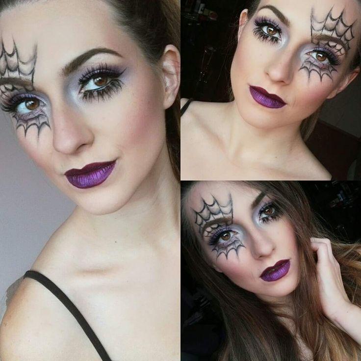 The 25+ best Spider makeup ideas on Pinterest | Spider web makeup ...