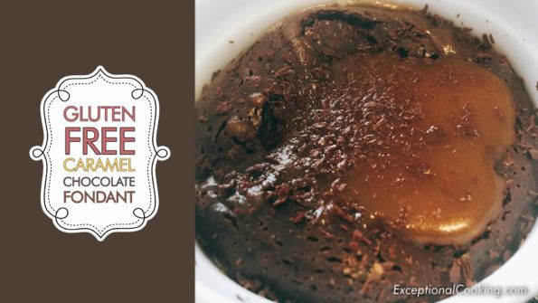 No Flour | Gluten Free Chocolate Fondant