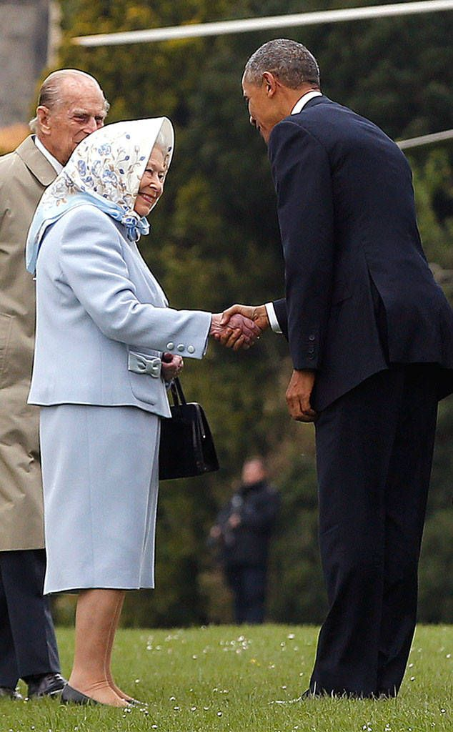 """#2016 #Last #Visit As #President """"An astonishing person and a jewel to the world': #44thPresident #BarackObama incredible Birthday tribute to #QueenElizabethII after he and #FirstLady #MichelleObama private lunch at Windsor Castle where #PrincePhilip Duke of Edinburgh was their personal #chauffeur President Obama Met with the Queen for a private lunch during his visit April 22, 2016 after her 90th Birthday which felt on April 21, 2016"""