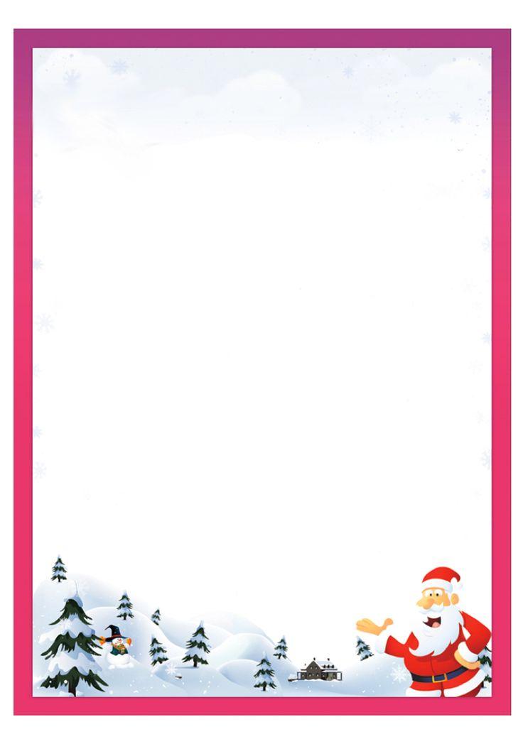 Lettera a Babbo Natale versione 8 da stampare gratis