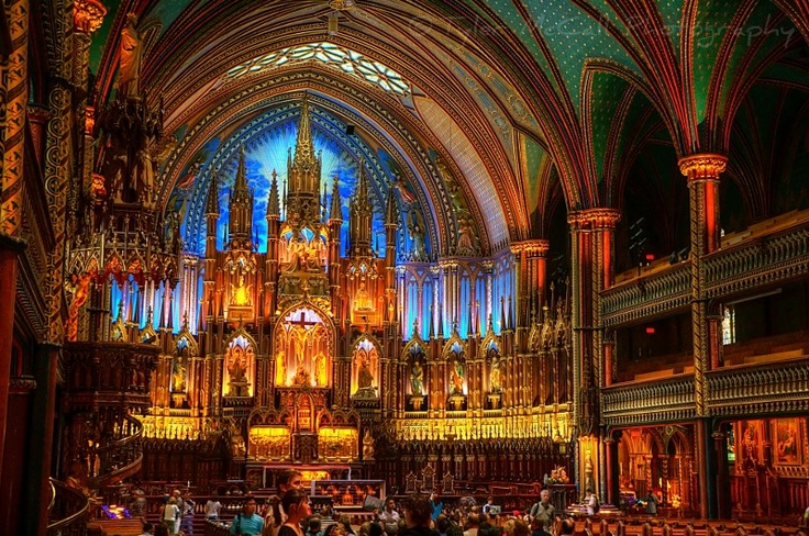 Notre-Dame Cathedral Basilica, Montreal, Canada