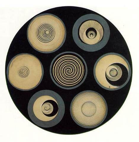 Marcel Duchamp, Disks Bearing Spirals 1923