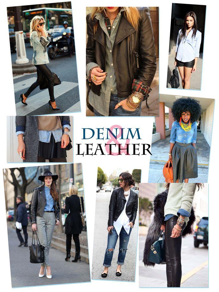 Denim&Leather Inspiration