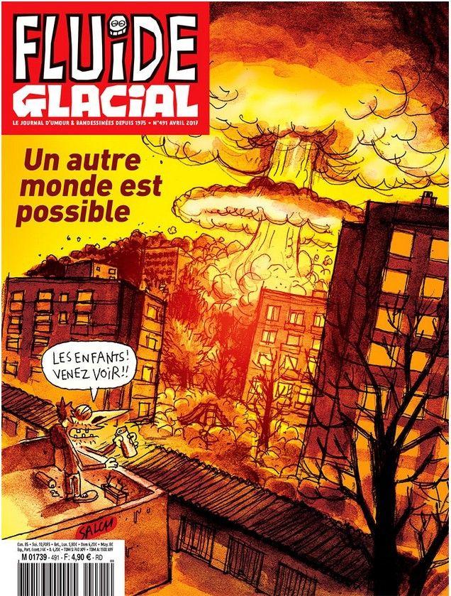 Fluide Glacial n°491 Avril 2017