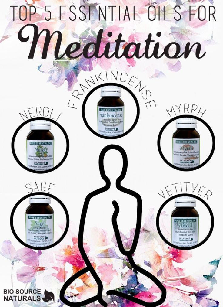 Essential Oils are great for meditation!  #aromatherapy