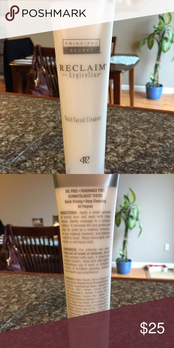 🎀Principal Secrets Total Facial Cleaner🎀 I have Two brand new  unopened Principal Secret Reclaim Total Facial Cleaners!!  My Boss is somewhat of a pack rat & has a surplus of this line!!! If you are looking for something else from this line just ask & I will see if we have it! All items are New, never used!!! Principal Secret Other