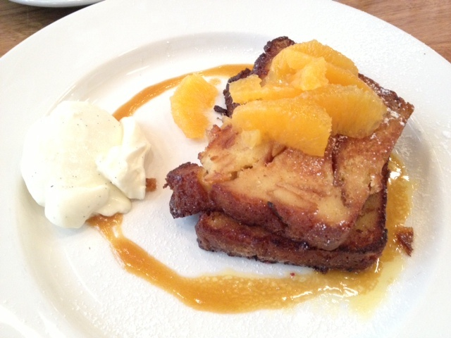 Marmalade French Toast - by Two Birds and One Stone, Melbourne