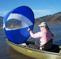WindPaddle Scout sail intended for 4-15 knot wind conditions. Built for the casual or recreational paddler, it is the lightest, most affordable, and easiest to use sail currently on the market