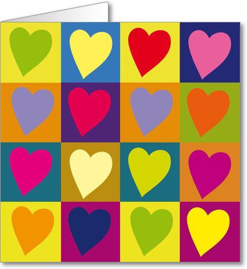 Une carte POP ART pour la fête des mères - Caracolus