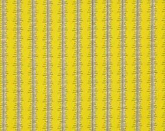 CLEARANCE Denyse Schmidt fabric  Stripe in Lime , 1 yard Chicopee