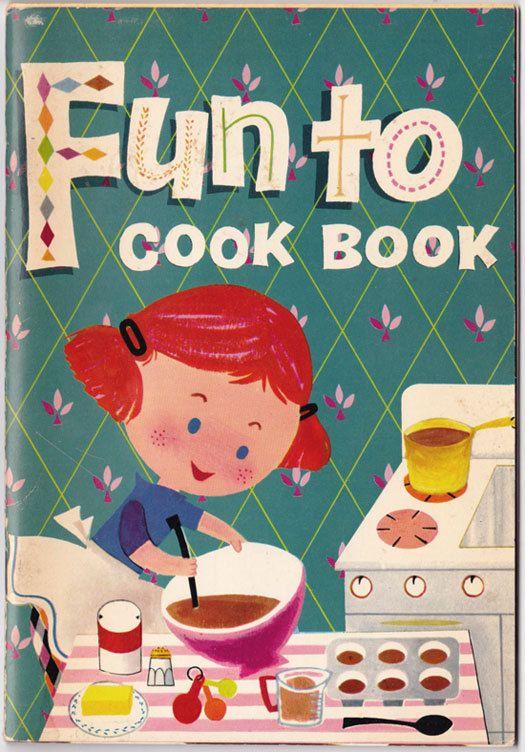 Fun to Cook Book 1967 vintage kids cookbook bookle