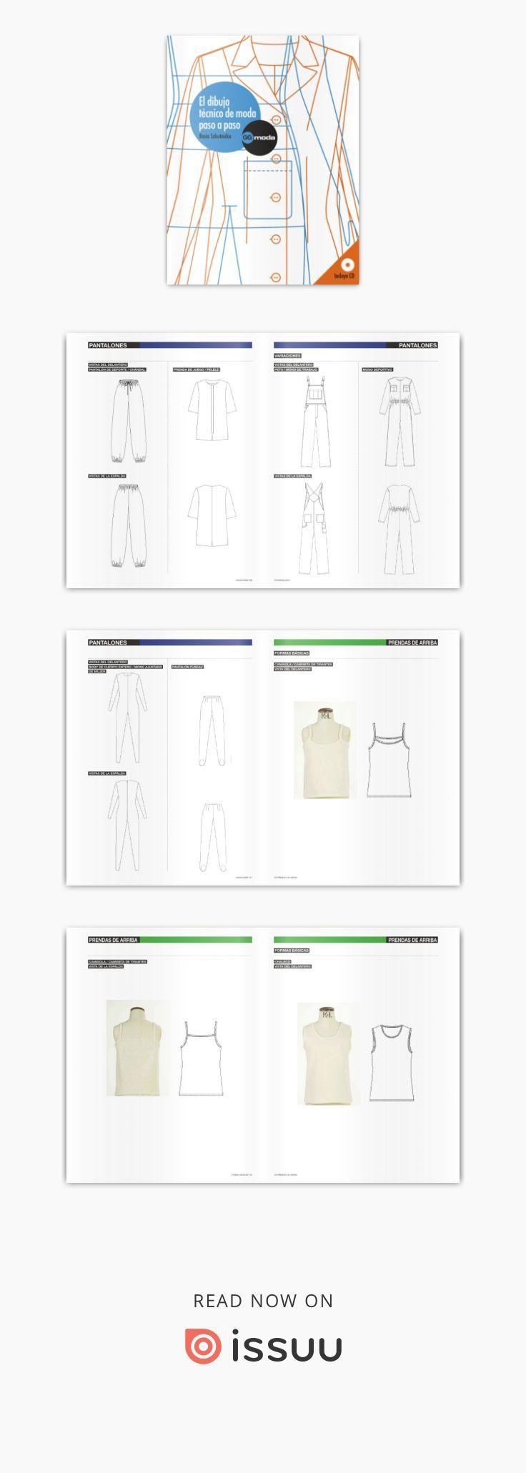 Libr el dibujo tecnico de moda paso a paso