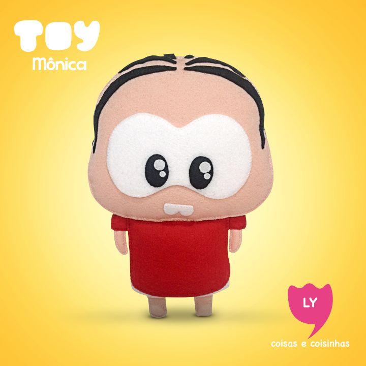 Mônica Toy é uma série lançada em maio de 2013 e distribuída via internet, pelo canal oficial do Youtube da Turma da Mônica. Os personagens da Turma da Mônica são reapresentados em traços chibi e vivem situações cômicas através de histórias mudas, de 30 segundos cada. #monicatoy #monica #cascao #cebolinha #magali #cute #felt #beautiful #lycoisasecoisinhas