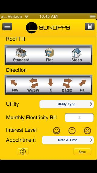 #SVBA Nominee: SunOpps Lite is intended to be used by OneRoof Energy sales people, dealers and affiliates to help manage leads as well as provide indicative pricing. The app also syncs to your Salesforce account!