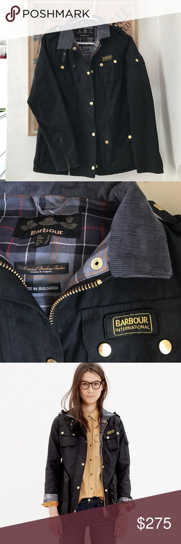 Barbour coat New B.INTL Ladies international wax jacket. I love this jacket so much, but never wear it. Barbour Jackets & Coats
