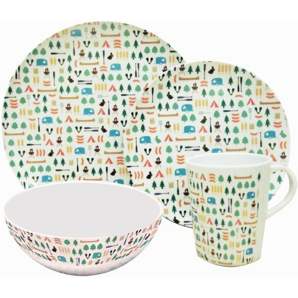 Was £21.07 > Now £17.23.  Save 18% off OLPro Berrow Hill Melamine Dinner Set (Pack of 8) #1StarDeal, #Car, #Under25