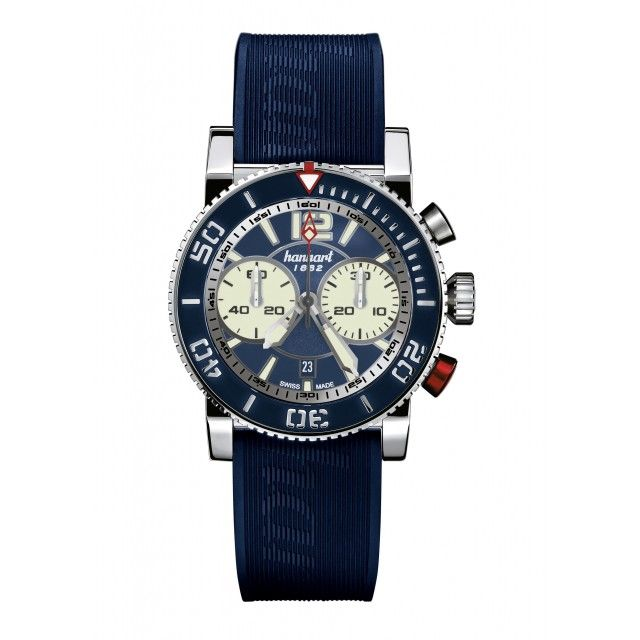 In the past, Hanhart supplied the Navy with chronographs, including the single-button