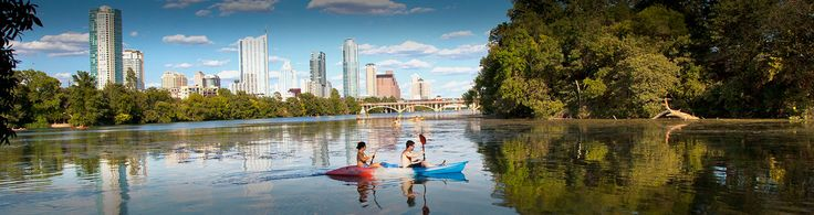 Lady Bird Lake Hike-and-Bike Trail: One of the best ways to get a feel for Austin is by taking a trip through the trails at Lady Bird Lake. You'll get great views of the city while enjoying the best nature Austin has to offer.