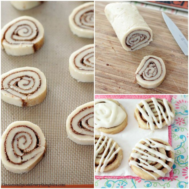 Cinnamon Roll Cookies-   More like a short bread- no baking soda/powder or granulated sugar. They are quite delicious though!   -Chloe D.