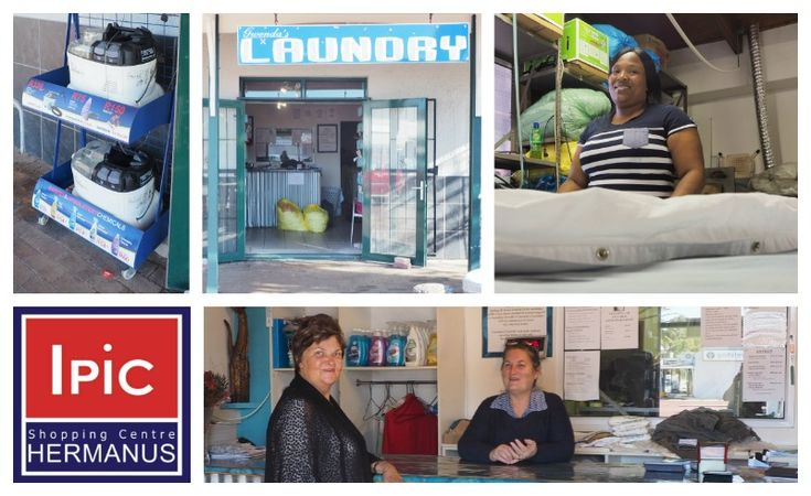 Gwenda's Laundry Hermanus Address: IPIC Shopping Centre Hermanus Tel: 028 312 1966 / 082 960 5913 Hours: Mon-Fri 7:30 am - 17:30 pm / Sat-Sun 7:30 am - 15:30 pm http://ilovehermanus.co.za/listing/the-ipic-shopping-center/