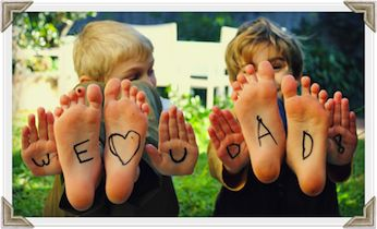 Cute Father's Day Gift Photo Idea | Father's Day | Kids Activities