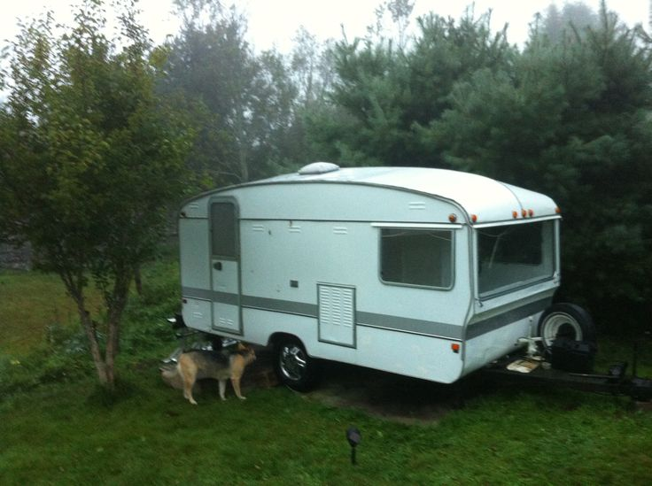 All washed and gleaming! Our Bailey Caravan!