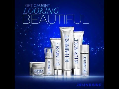 LUMINESCE NEW ANTI AGING PRODUCT JEUNESSE GLOBAL