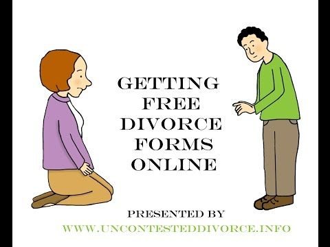 You don't have to pay companies huge money for uncontested divorce forms! You can often get them free online!  Divorce Forms | Uncontested Divorce Info