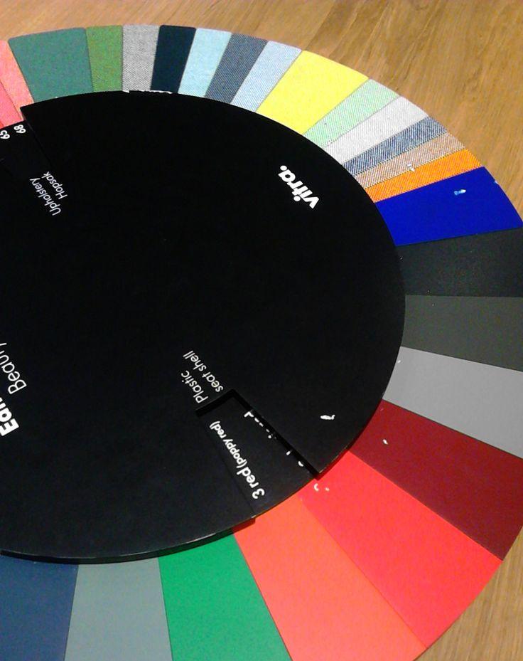 colours and textile palette_stand #vitra #salonedelmobile #2015