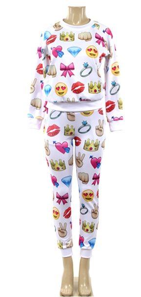 Peces - Emoji Jogger Set, $49.99 (http://www.shoppeces.com/emoji-jogger-set/)
