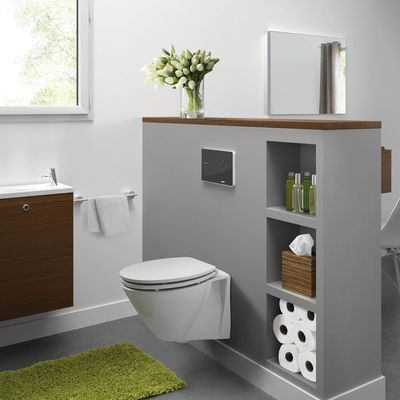 Les 25 meilleures id es de la cat gorie wc suspendu sur pinterest deco toilette toilettes et for Amenagement wc suspendu