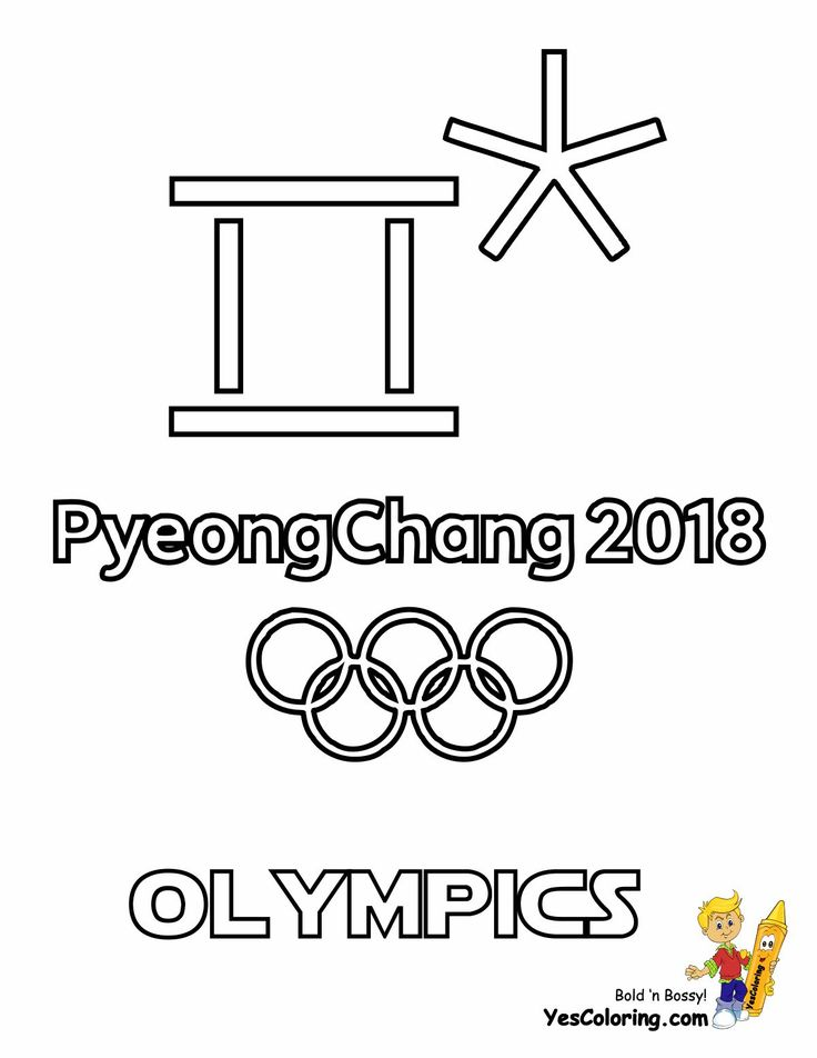 45 best Free Olympics Coloring Pages images on Pinterest
