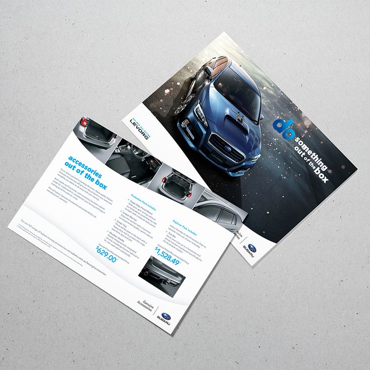 The new Levorg Accessories Pack! Another flyer done and dusted for Subaru Australia  #creatik #design #creatikdesign #creativeagency #sydneydesignstudio #creatives #graphicdesign #layoutdesign #photography #printdesign #typography #publication #minimalist #minimaldesign #lessismore #cleandesign #adobe #logo #logodesign #branding #brandidentity #rebrand #gooddesign #marketing #sutherlandshire #shiredesign #designsutherland #cronullasutherland