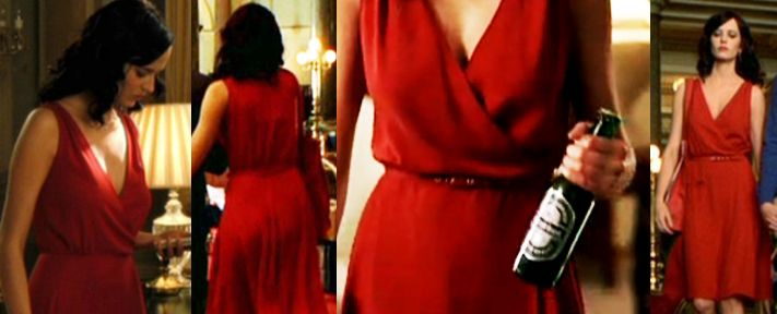 Eva Green's wrap dress in Casino Royale is to die for. Also, Eva Green in general is to die for.