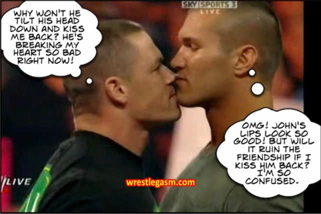 Proof that Cena and Orton are gay - YouTube