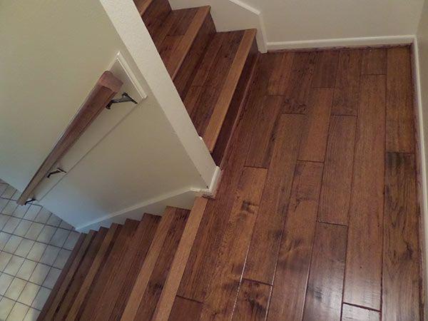 Customer review of heirloom buckskin installation for Engineered wood flooring installation