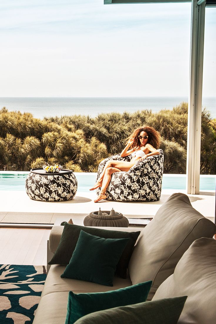 Thinking good times and sweet memories while lounging in the most beautiful seat ever!  #beanbags #newzealand