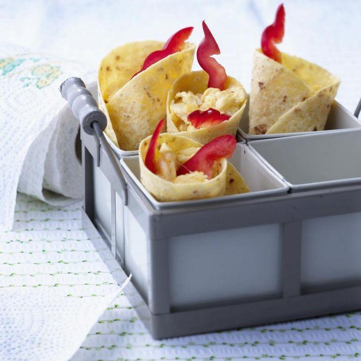 burrito egg wraps frokost