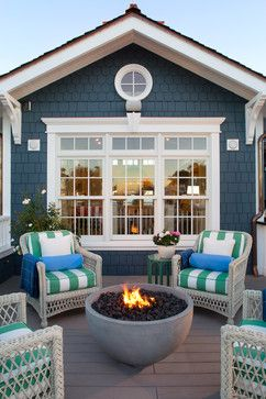 Coastal Living Magazine Showhouse 2014 - beach-style - Deck - San Diego - Flagg Coastal Homes