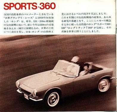 Honda S360