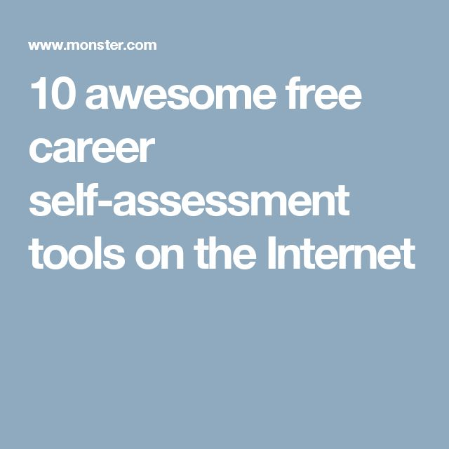 Your Free Career Test: 25+ Best Ideas About Career Assessment On Pinterest