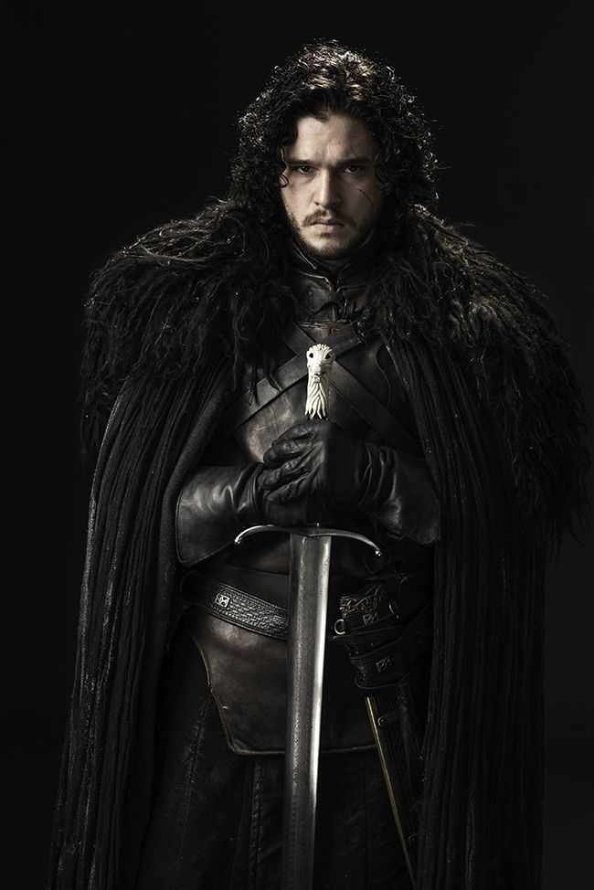 Kit Harington - Jon Snow - GoT #GameOfThrones