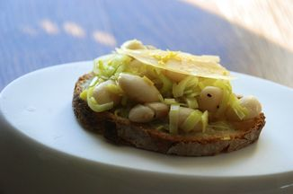 White Beans and Leeks on Toast Recipe on Food52, a recipe on Food52